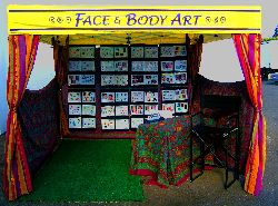 FESTIVAL FACE PAINTER BOOTH
