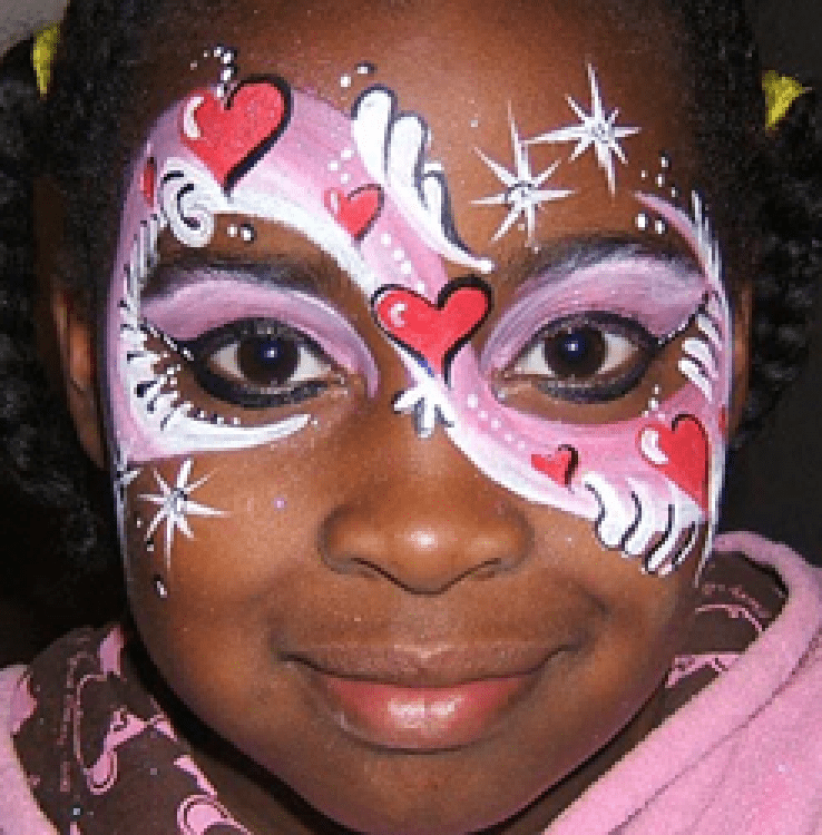 FACE PAINTER, BY-HAND