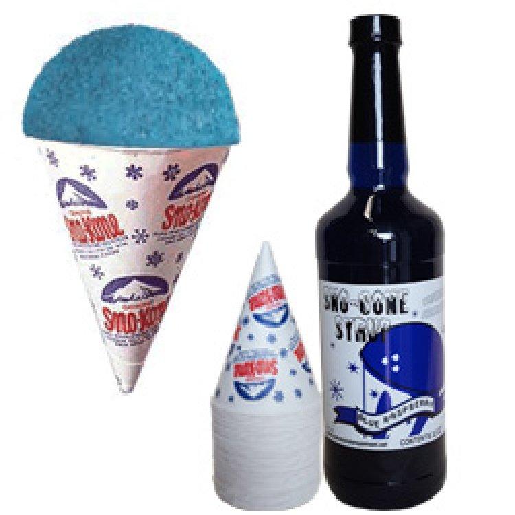 1 Qt Blue Rasp syrup + 30 cups