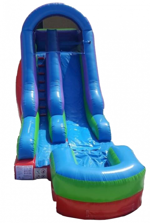 15 FOOT RETRO DRY SLIDE