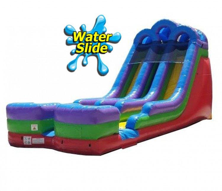 18 FOOT DUAL WATER SLIDE